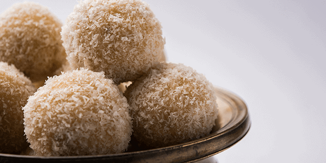 Looking for an Edible Gift With Meaning? Try This Recipe for Coconut Laddus