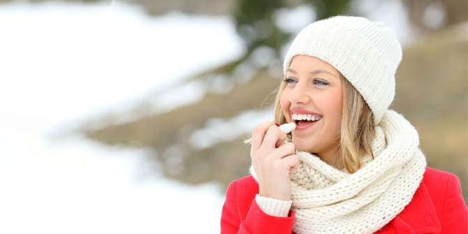 Use Coconut Oil for Soft Plump Lips This Winter