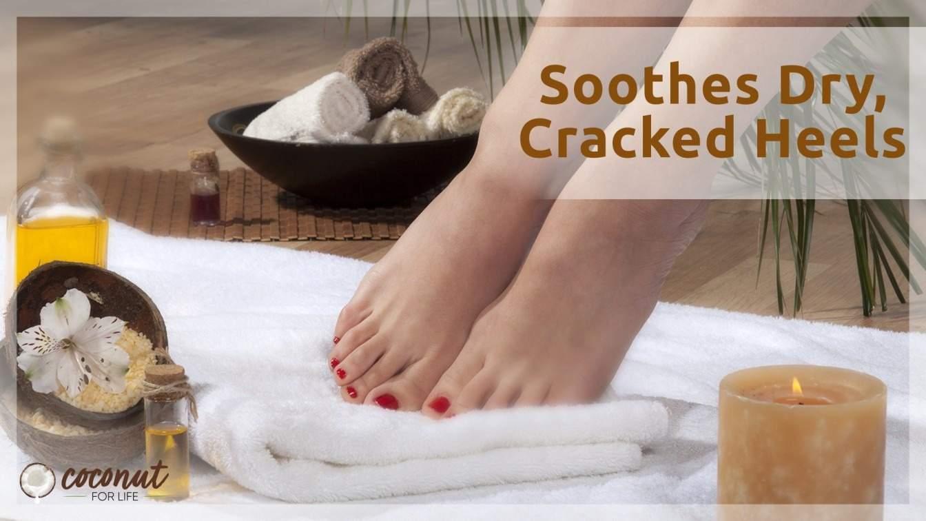 foot scrub at home
