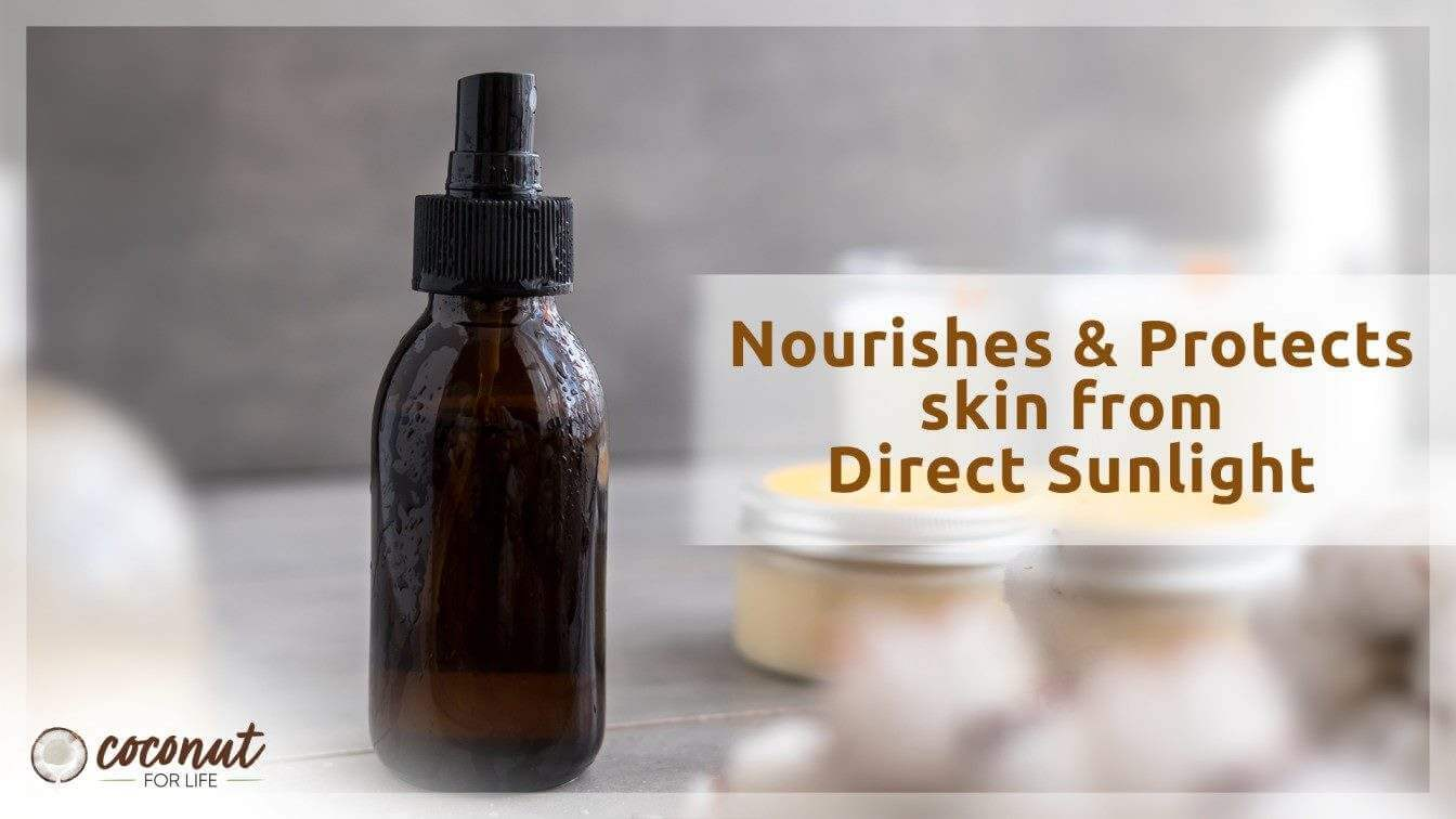 Homemade Natural Sunscreen Spray